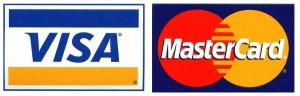 Logos VISA et MasterCard