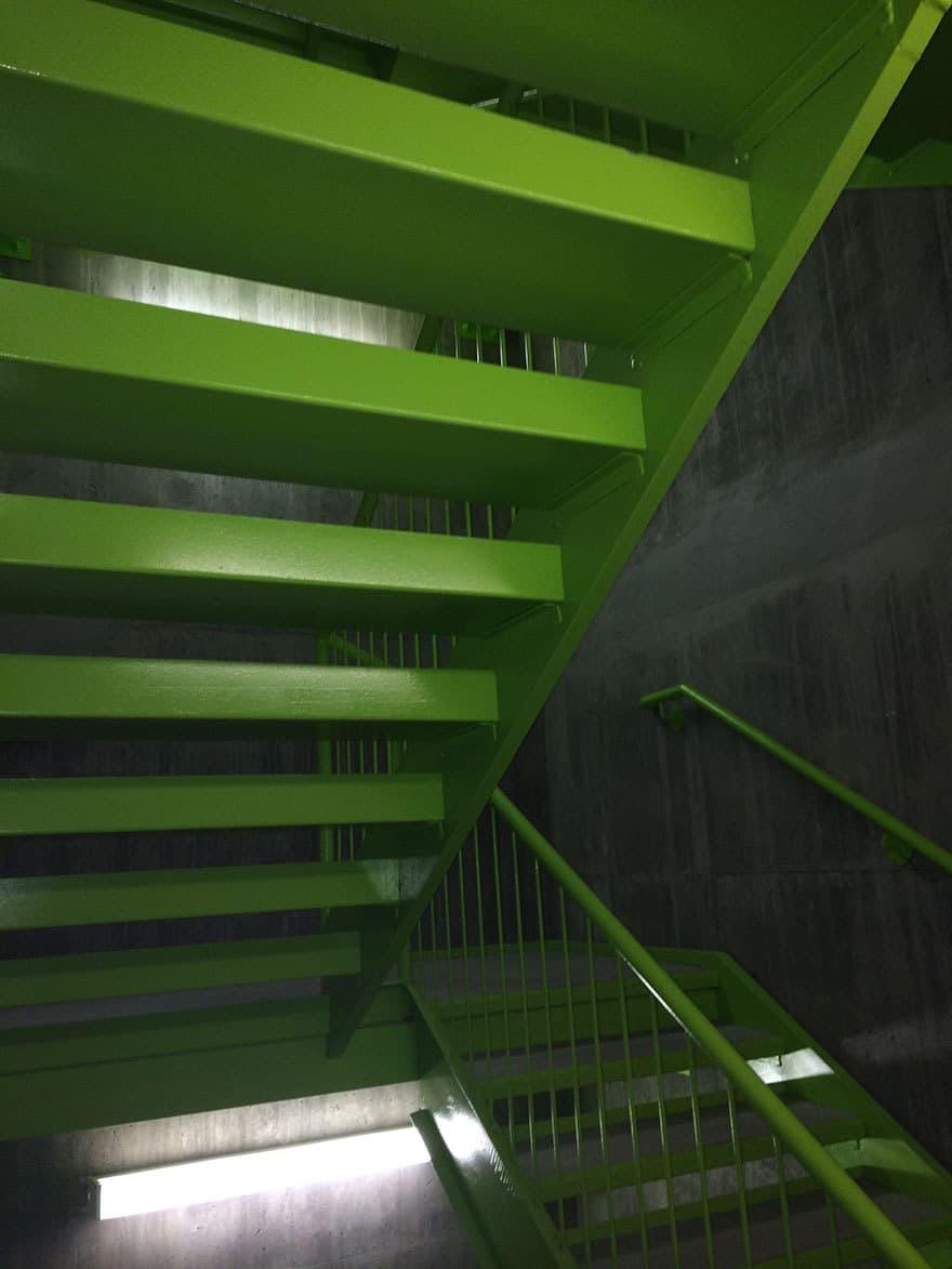 Condo peintre escalier Rive-nord Rive-sud Montréal