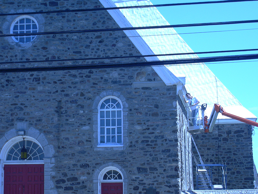 Peinture institutionnelle Montréal