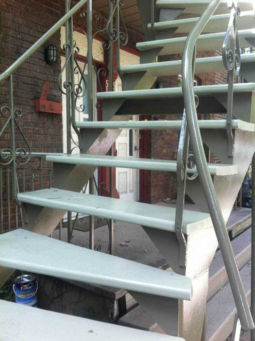 Wrought iron painter, professional quality