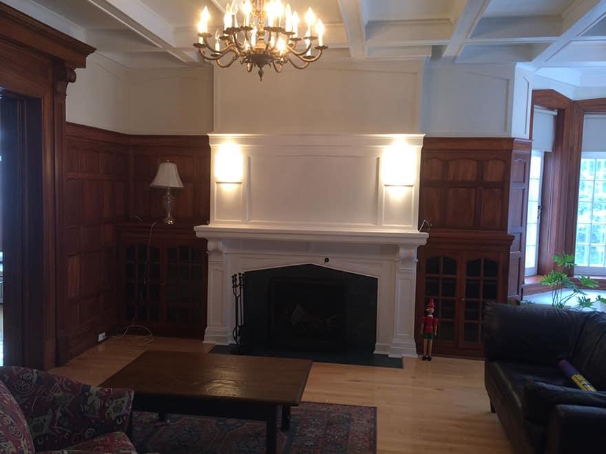Peintre, Résidentiel intérieur