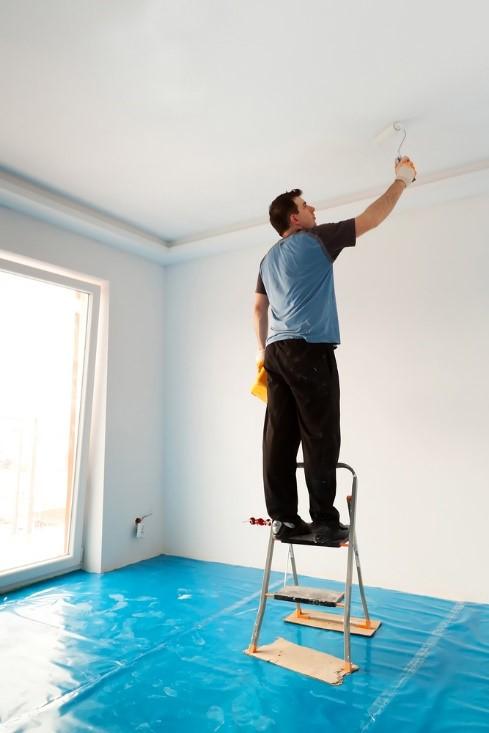 4 Conseils Pour La Peinture De Votre Plafond