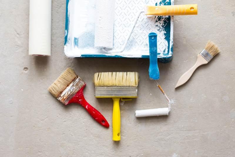 Nettoyage pinceaux