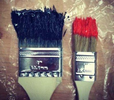 Astuce peinture