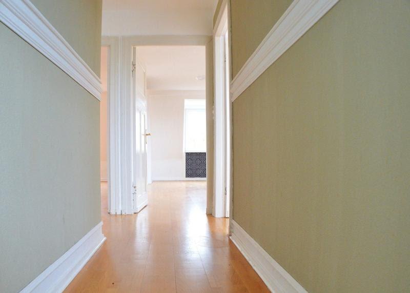 couloir peinture